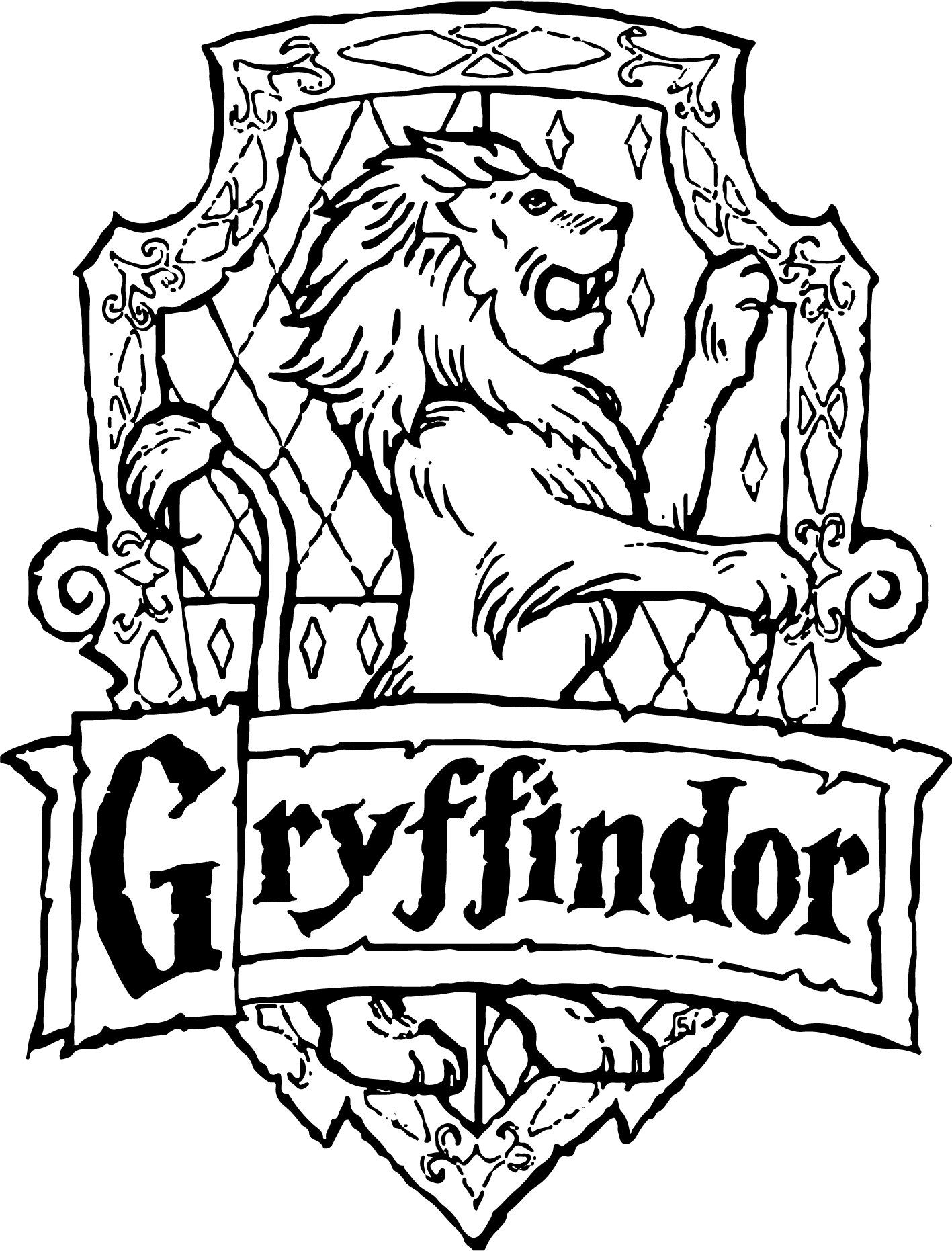 gryffindor svg #309, Download drawings