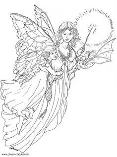 Guardian Angel coloring #3, Download drawings