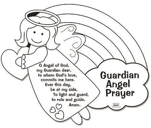 Guardian Angel coloring #17, Download drawings