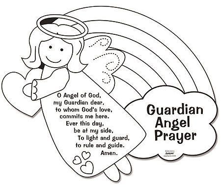 Guardian Angel coloring #6, Download drawings