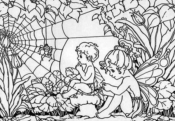 Guardian Angel coloring #7, Download drawings