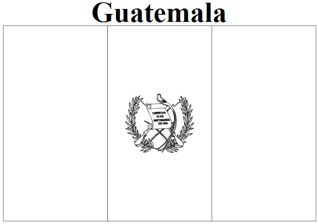 Guatemala coloring #19, Download drawings
