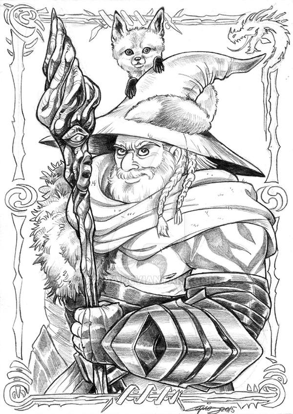 Guild Wars coloring #15, Download drawings