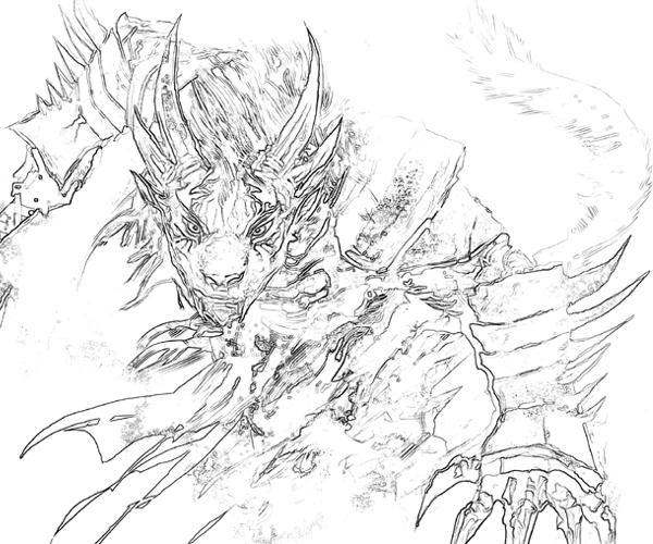 Guild Wars coloring #18, Download drawings