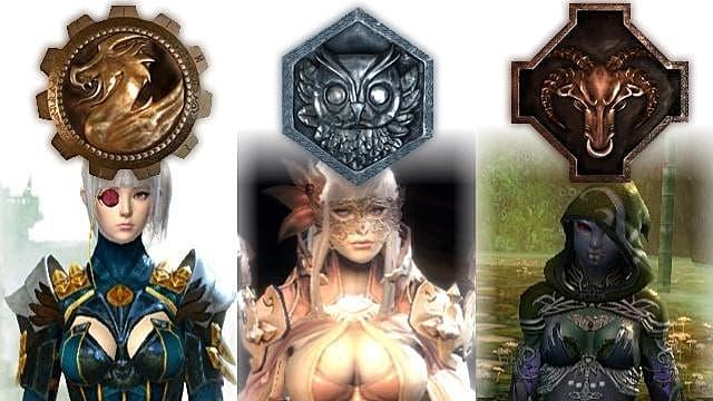 Guild Wars 2 coloring #7, Download drawings