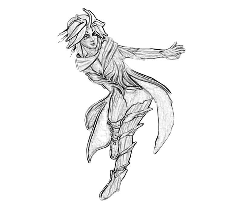 Guild Wars coloring #14, Download drawings
