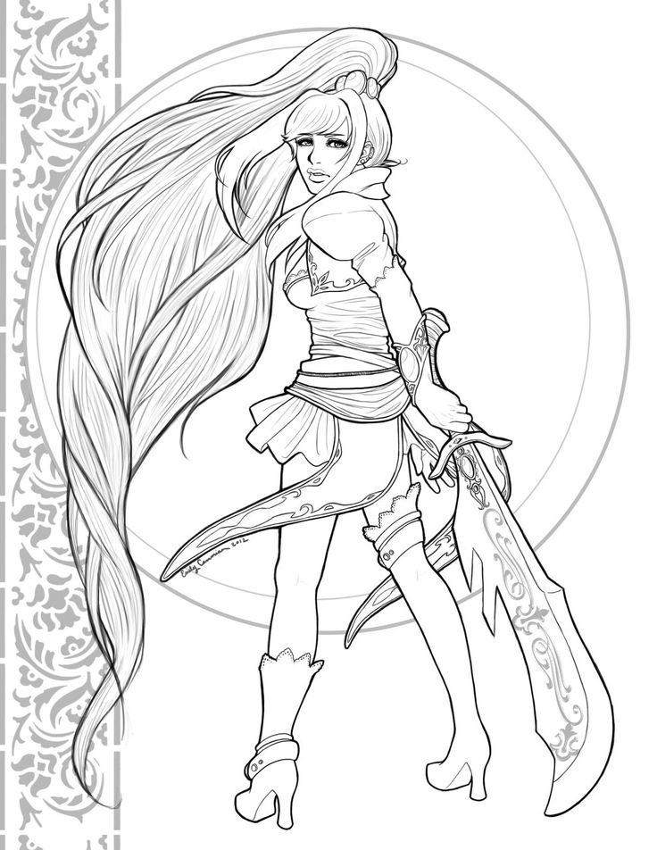 Guild Wars coloring #19, Download drawings