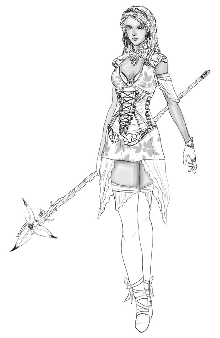 Guild Wars coloring #20, Download drawings