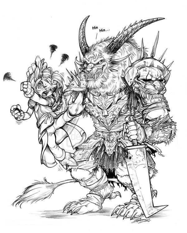 Guild Wars 2 coloring #10, Download drawings