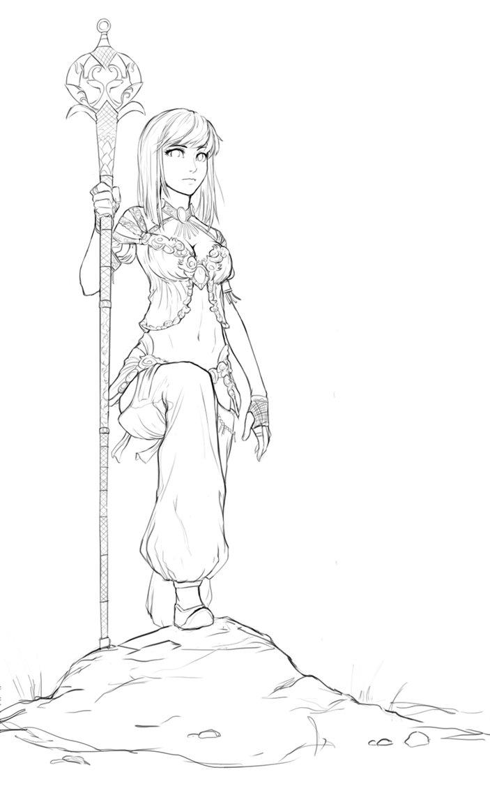 Guild Wars coloring #3, Download drawings