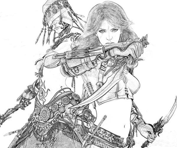 Guild Wars coloring #16, Download drawings