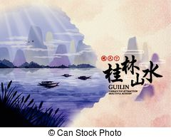 Guilin clipart #2, Download drawings