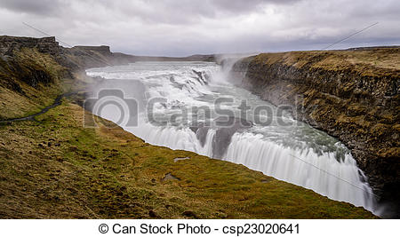 Gullfoss clipart #10, Download drawings