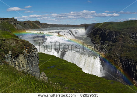 Gullfoss clipart #1, Download drawings