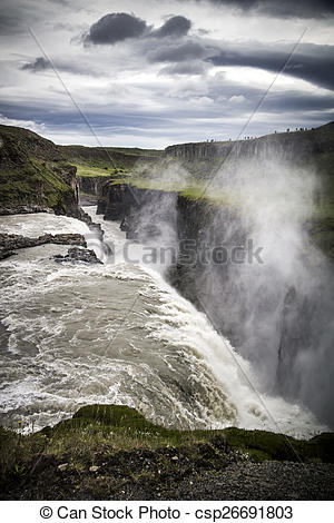 Gullfoss clipart #16, Download drawings