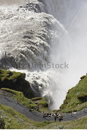Gullfoss clipart #4, Download drawings