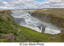 Gullfoss clipart #3, Download drawings