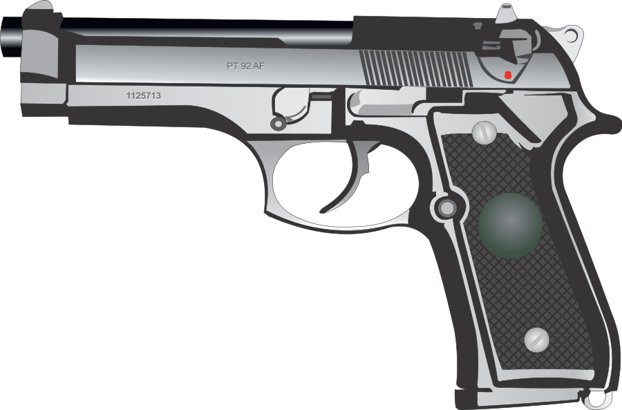 Pistol clipart #11, Download drawings