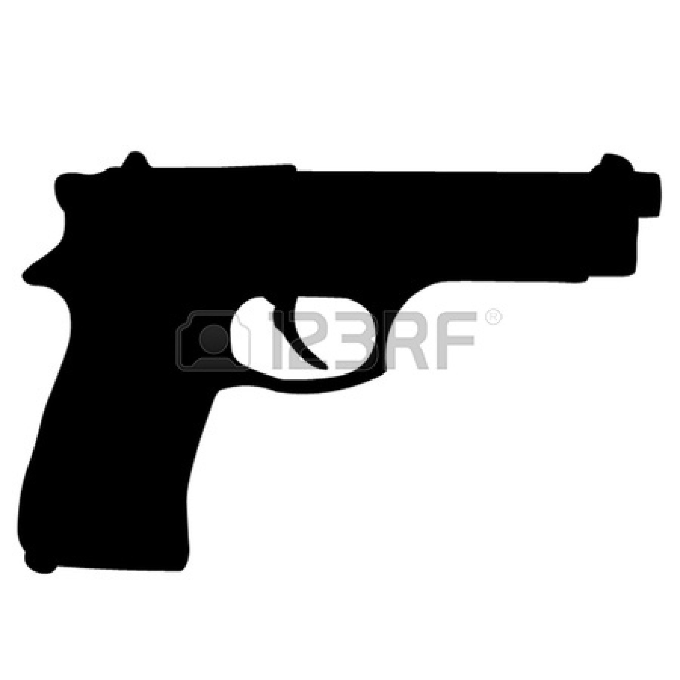 Pistol clipart #4, Download drawings