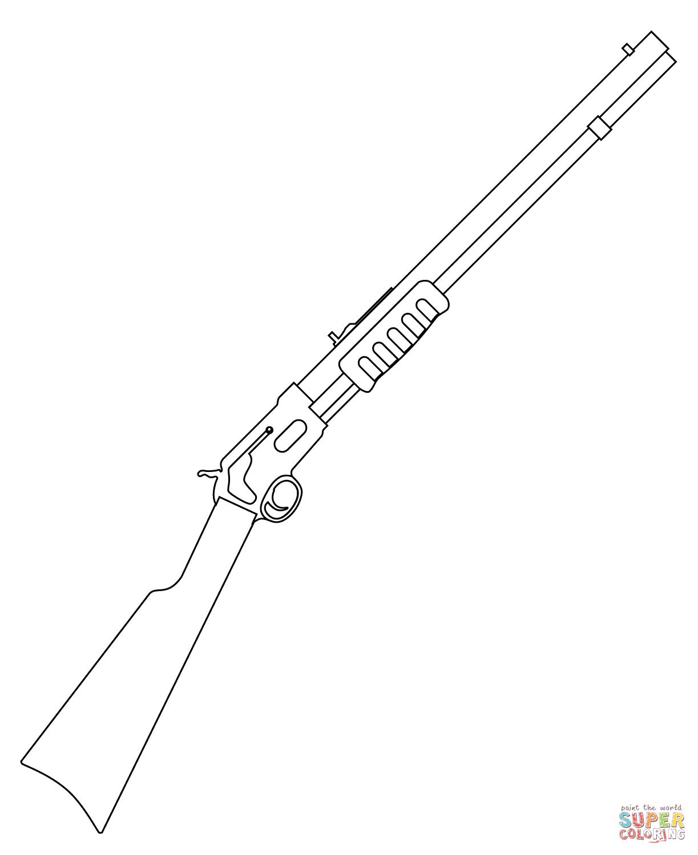Handgun coloring #10, Download drawings