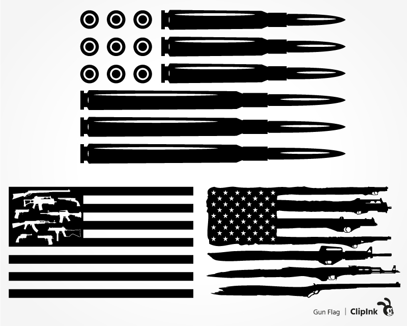 gun flag svg #1150, Download drawings