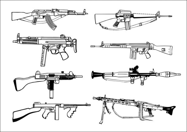 Gun svg #1, Download drawings