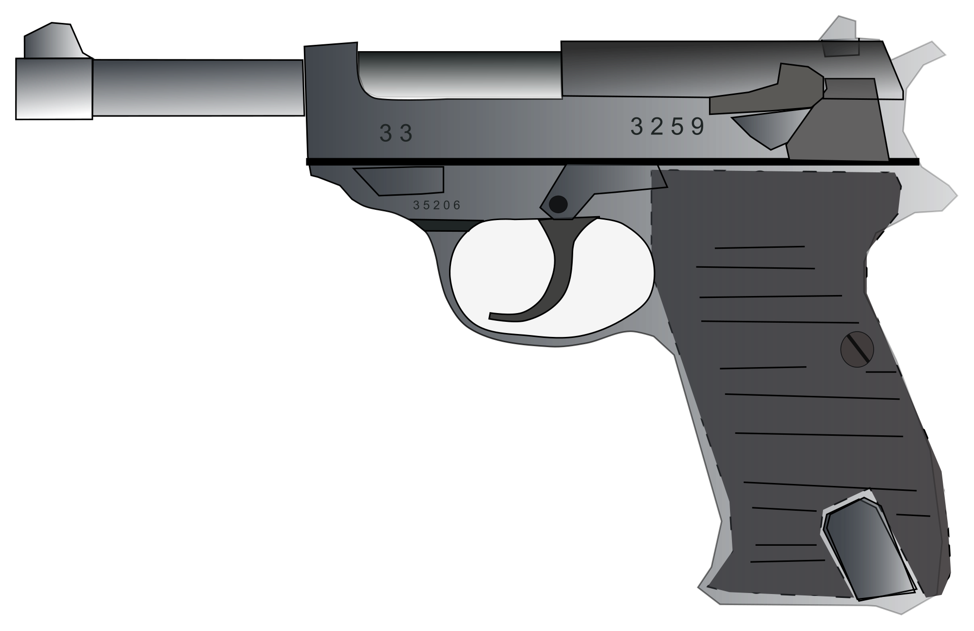 Gun svg #13, Download drawings