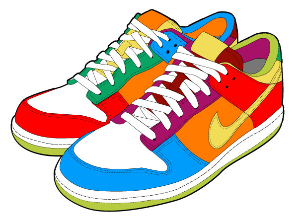 Gym-shoes clipart #6, Download drawings