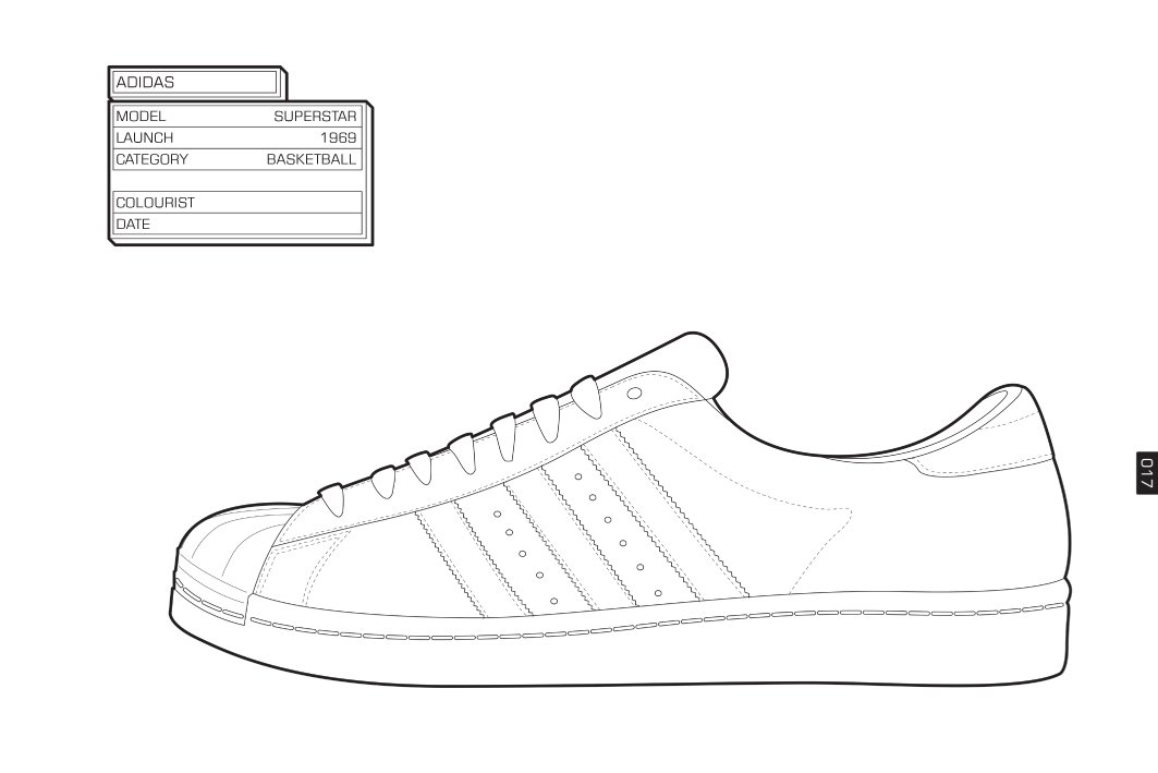 Sneakers coloring #20, Download drawings
