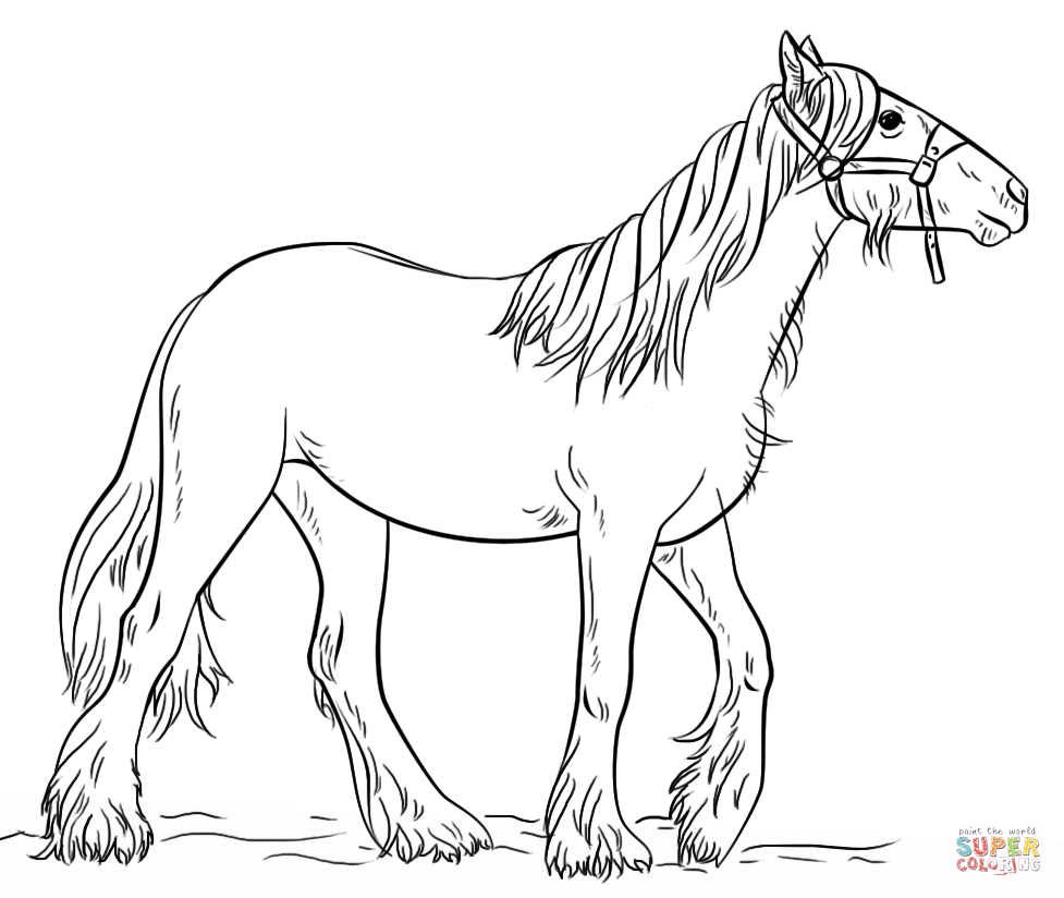 Gypsy coloring #7, Download drawings