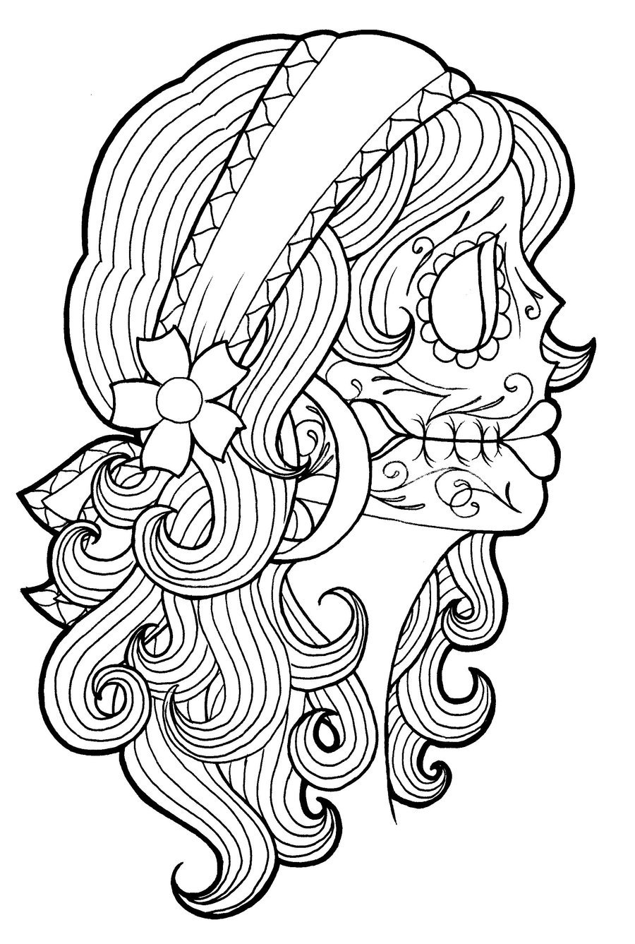 Gypsy coloring #4, Download drawings