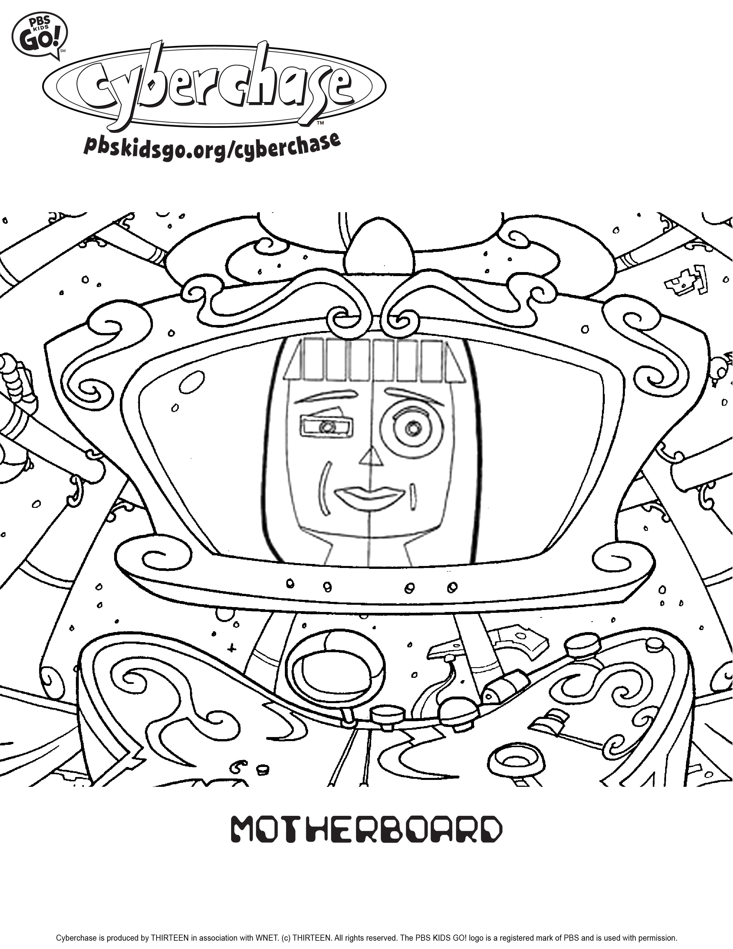Cyber coloring #20, Download drawings