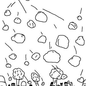 Hail coloring #19, Download drawings