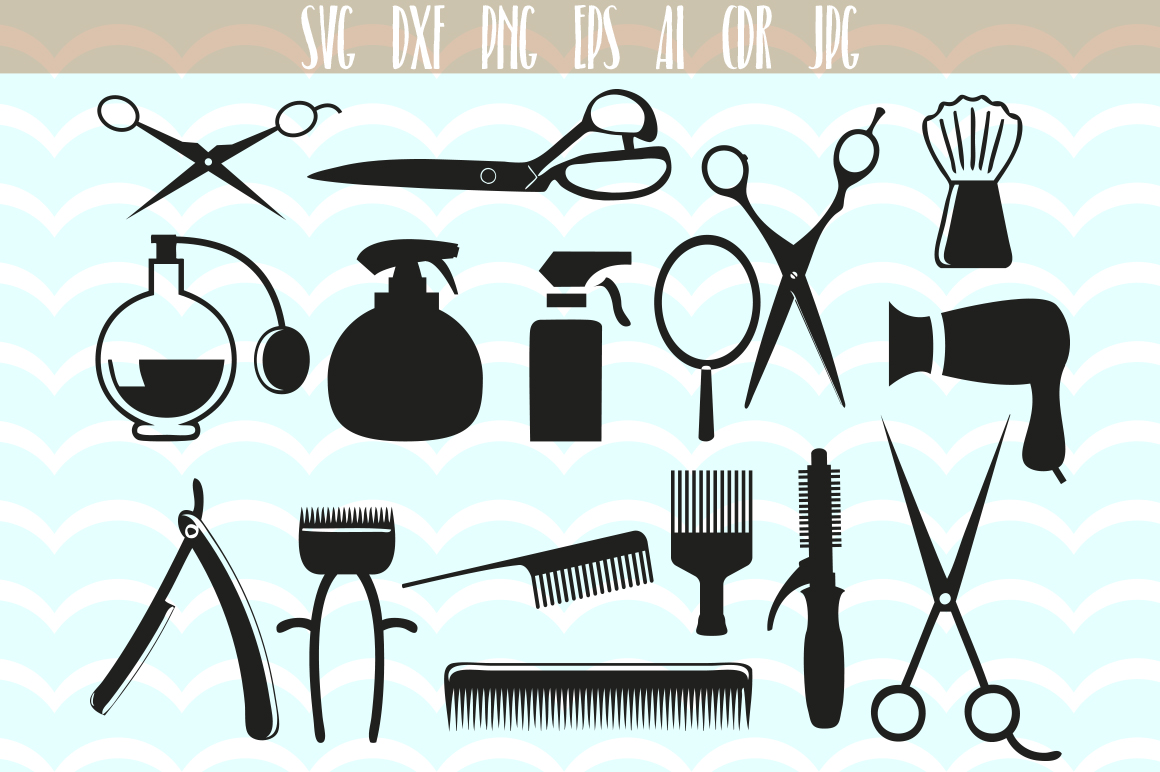 hair stylist svg #276, Download drawings