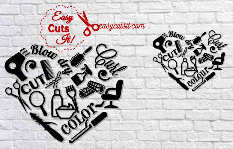 hair stylist svg #279, Download drawings