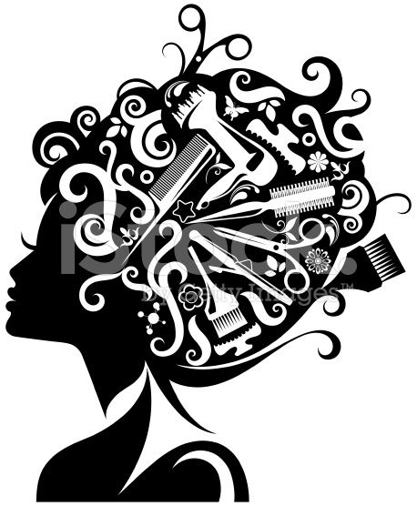 Hair svg #13, Download drawings
