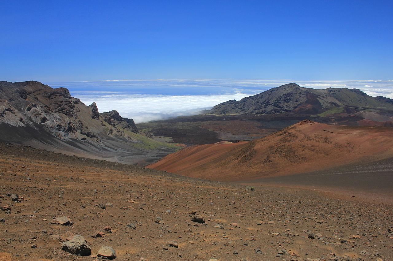 Haleakala Crater coloring #6, Download drawings