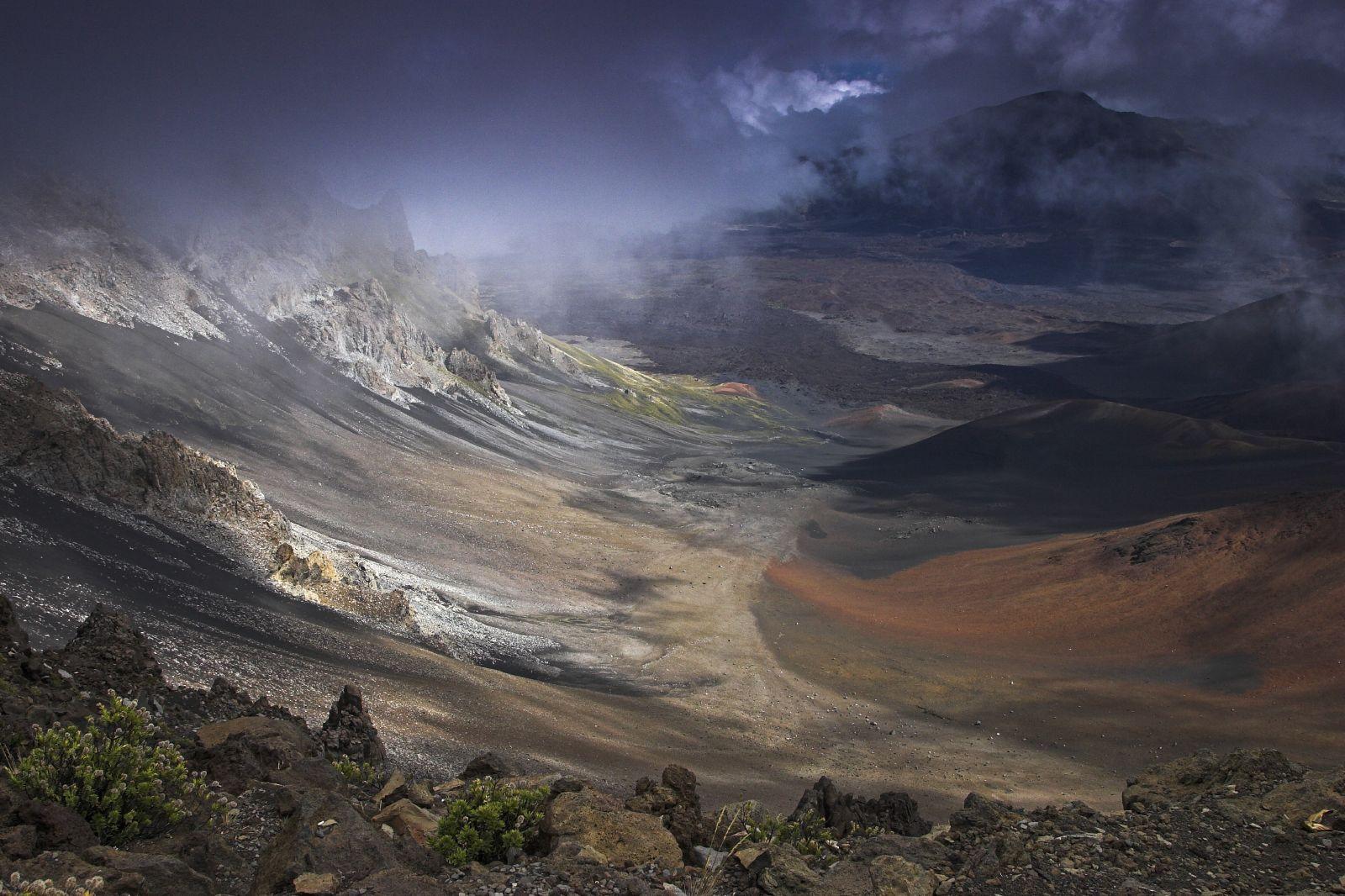 Haleakala Crater coloring #12, Download drawings