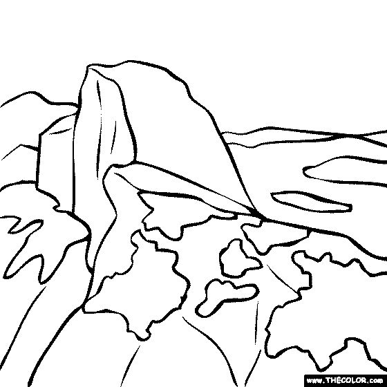 Half Dome clipart #12, Download drawings
