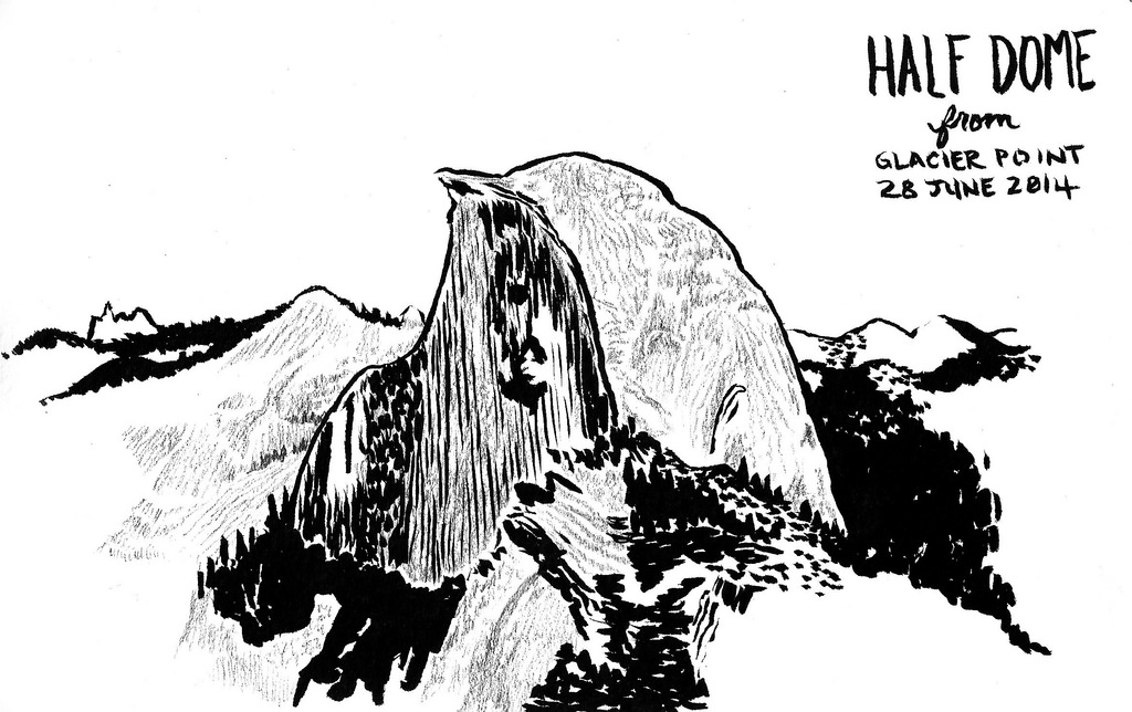 Half Dome clipart #10, Download drawings