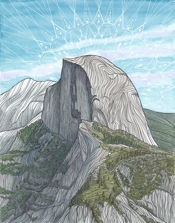 Half Dome clipart #18, Download drawings