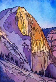 Half Dome coloring #8, Download drawings