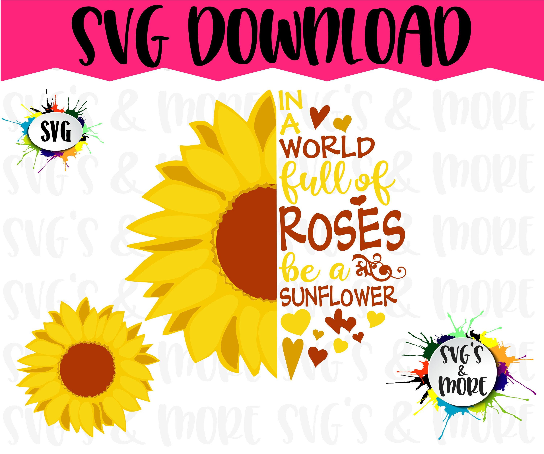 half sunflower svg #912, Download drawings