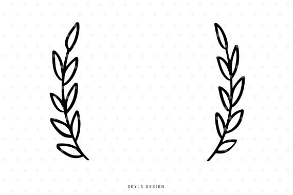 half wreath svg #963, Download drawings