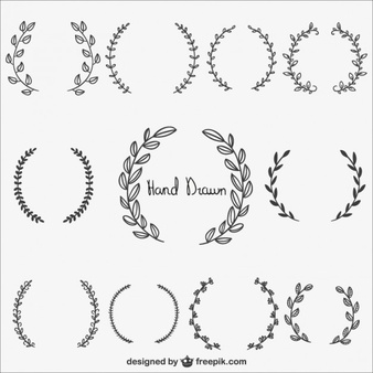 half wreath svg #969, Download drawings