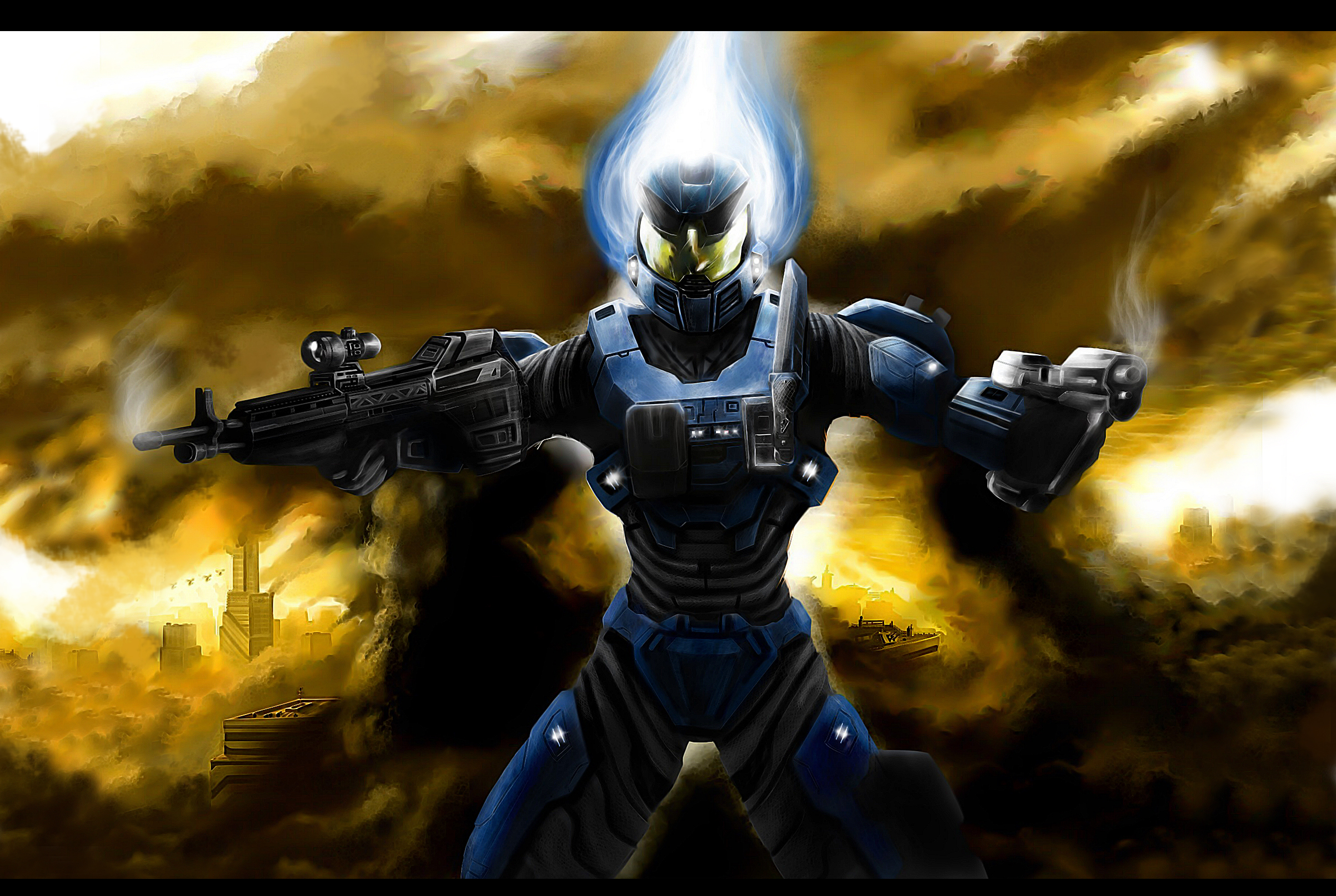 Halo Reach Mountains coloring #1, Download drawings
