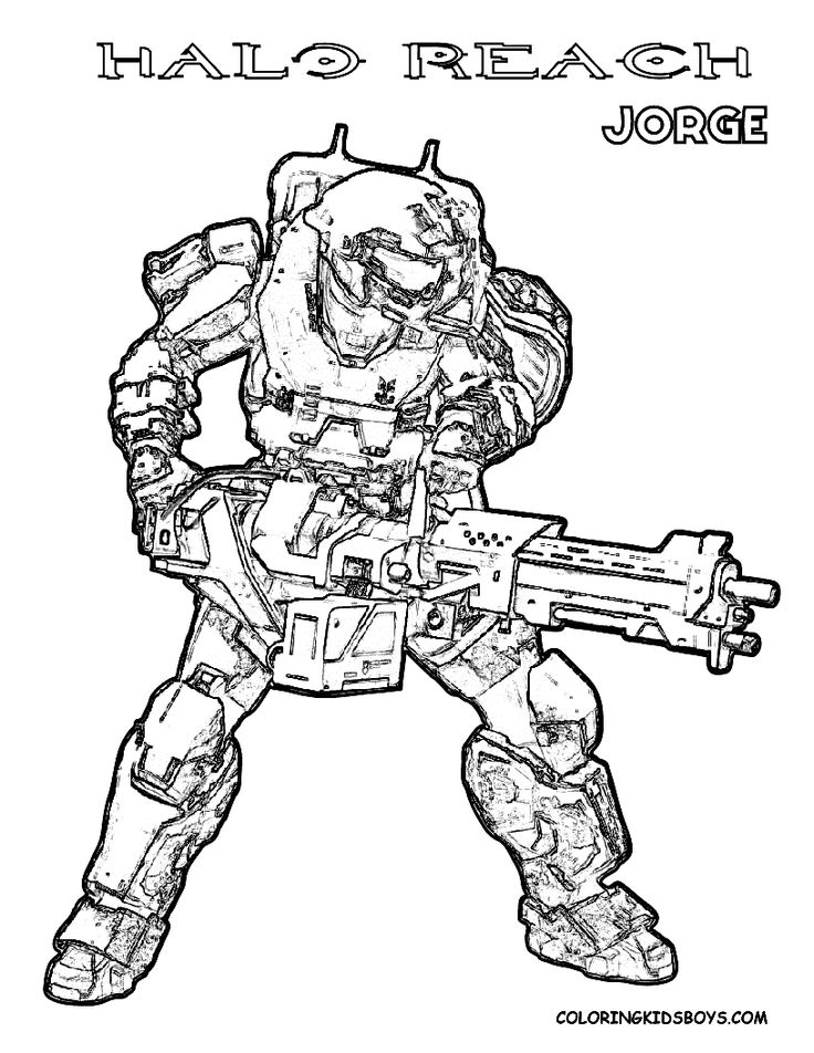Halo Reach Mountains coloring #15, Download drawings