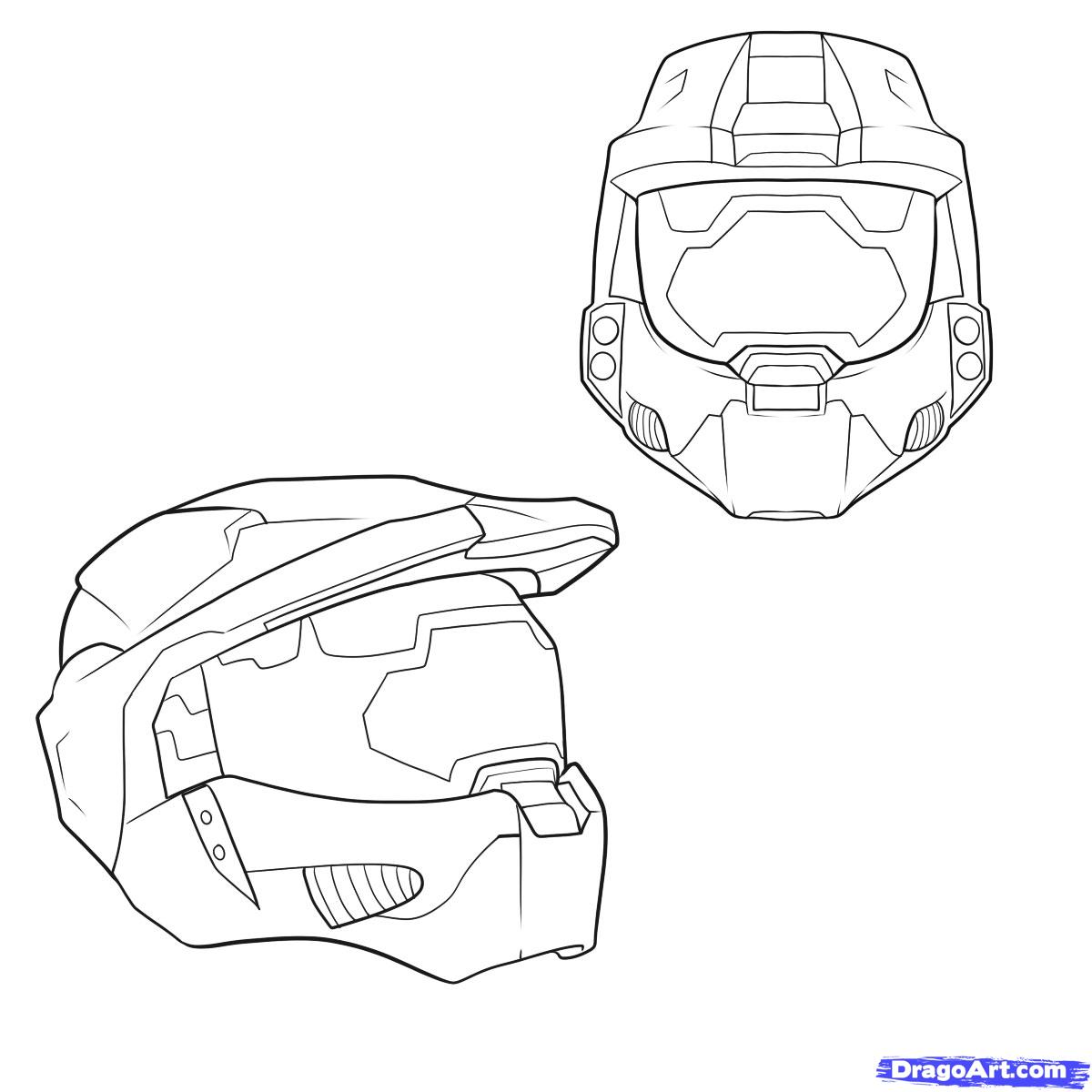 Halo Reach Mountains coloring #14, Download drawings