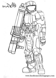 Halo Reach Mountains coloring #10, Download drawings