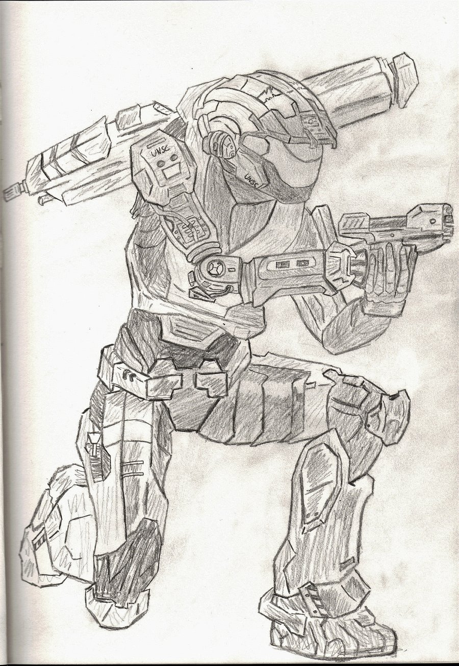 Halo Reach Mountains coloring #5, Download drawings